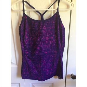Purple Old Navy Active Tank Top